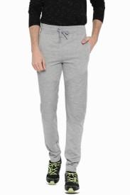 Sports 52 Wear Solid Men's Grey Track Pants