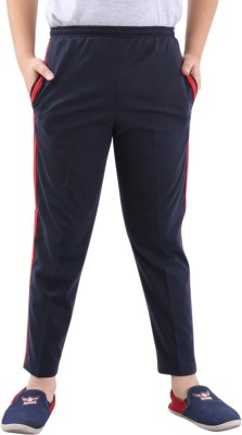Fizzi Pro Solid Men's Dark Blue Track Pants