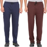 Garudaa Garments Solid Men's Dark Blue, ...