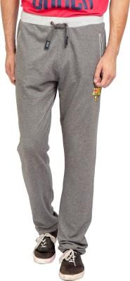 FC Barcelona Printed Men's Grey Track Pants
