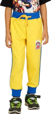 Shaun Solid Men's Yellow Track Pants