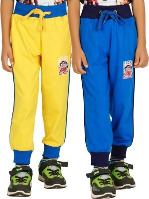 Shaun Solid Men's Yellow, Light Blue Track Pants