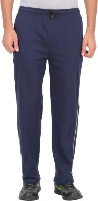 Fit & Fashion Solid Men's Blue Track Pants