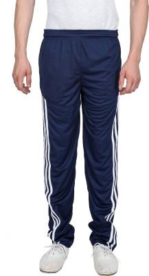 Xplore Blue Solid Solid Men's Blue Track Pants