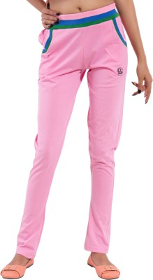 Lingo Striped Women's Pink Track Pants