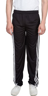 Xplore Black Sports Solid Men's Black Track Pants