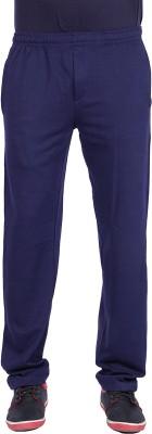 Raves Solid Men's Dark Blue Track Pants