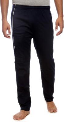 Kanter Solid Men's Dark Blue Track Pants