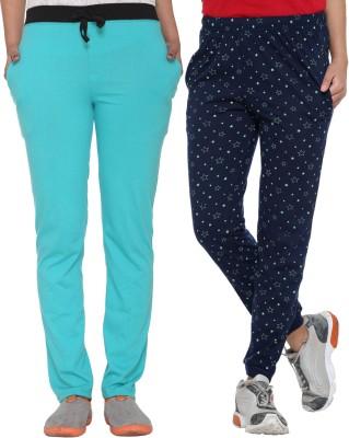 Vimal Solid Women's Multicolor Track Pants at flipkart