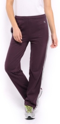 Macrowoman Active Solid Women's Purple Track Pants