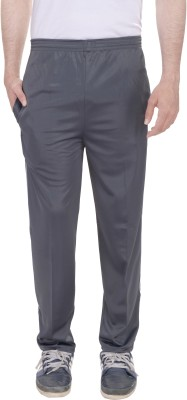 Kalrav Solid Men's Grey Track Pants