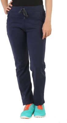 Bottoms More Solid Women's Dark Blue Track Pants