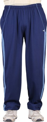 NCI Fashion Striped Men's Dark Blue, Blue Track Pants