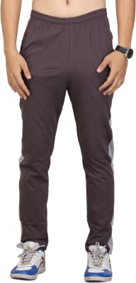 Vego Self Design Men's Brown Track Pants