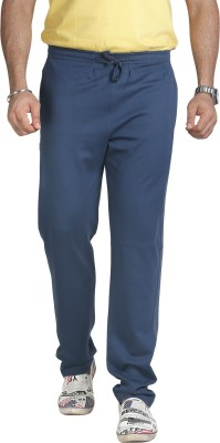 Allocate Solid Men,s Blue Track Pants