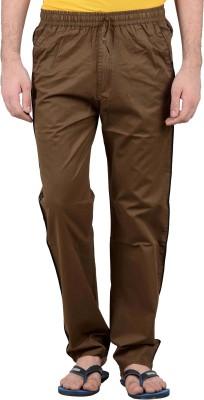 Burdy 571 Night Wear Solid Men's Light Green Track Pants