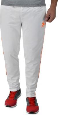 Surly Self Design Men's White, Orange Track Pants