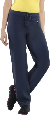 Macrowoman Lounge Solid Women's Blue Track Pants