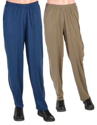 Gazelle Active Solid Men's Brown, Blue Track Pants