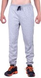 DFH Solid Men's Grey Track Pants