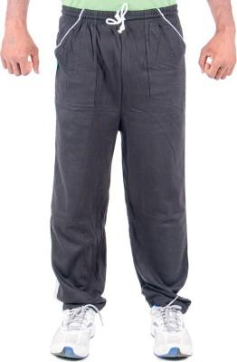 Funky Guys Solid Men's Black Track Pants