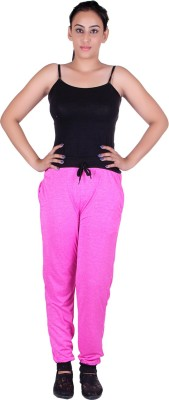 Gag Wear Solid Women,s Pink Track Pants