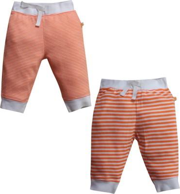 FS Mini Klub PO2 Bottoms Striped Baby Boy,s Orange Track Pants