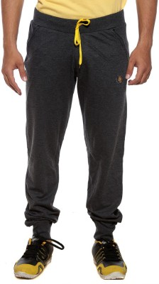 Sports 52 Wear Solid Men's Grey Track Pants