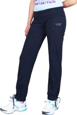 TK Solid Women's Blue Track Pants