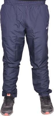 US Woodlook Nik Solid Men's Blue, White Track Pants