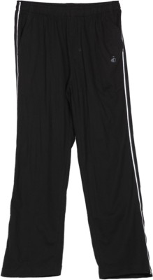 Jockey Solid Men's Black Track Pants