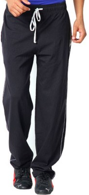 Softwear Solid Men's Black Track Pants