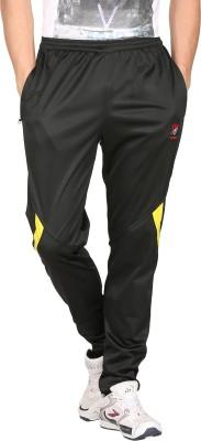 Vwear Solid Men's Black Track Pants