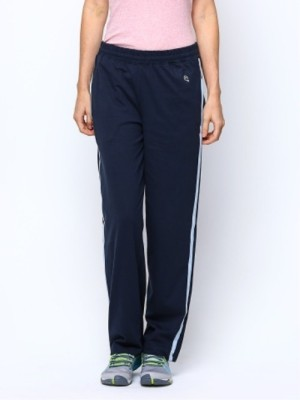 Macrowoman Active Solid Women's Dark Blue Track Pants
