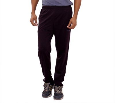 Anchy Solid Men's Maroon Track Pants