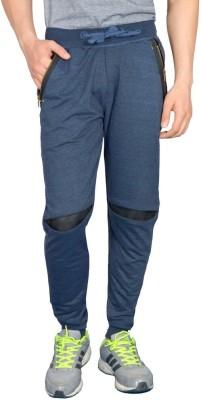 London Eye Embellished Men's Light Blue Track Pants