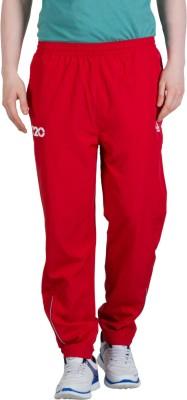 Goodluck L-0006 D Solid Men's Red Track Pants