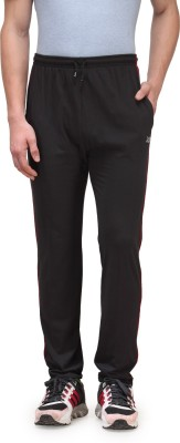 Alfa Plus Premium Solid Men's Black Track Pants