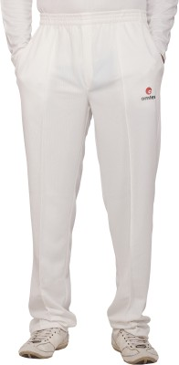 Omtex Prince Solid Men,s White Track Pants