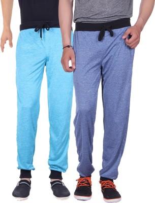 Gag Wear Solid Men's Dark Blue, Light Blue Track Pants