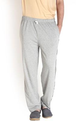 Teen Tees Solid Men's Grey Track Pants