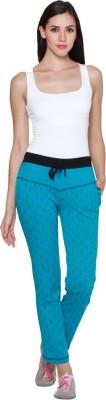 Sweet Dreams Solid Women's Light Green Track Pants