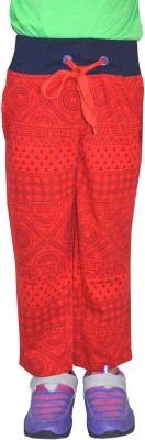 Shaun Track Pant For Girls(Red)