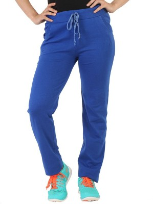 Bottoms More Solid Women's Blue Track Pants