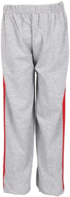 Lava Solid Girl's Grey Track Pants