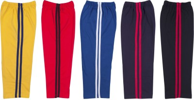 Hunny Bunny Solid Baby Boy's Yellow, Red, Blue, Dark Blue, Black Track Pants
