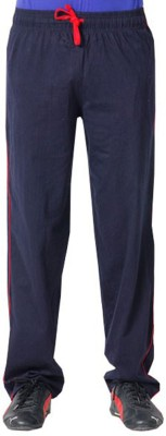 Softwear Solid Men's Blue Track Pants