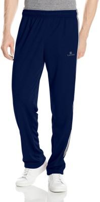 Lavos Solid Men's Dark Blue Track Pants