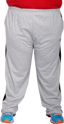 Xmex Solid Men's Grey Track Pants