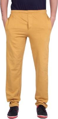 Raves Solid Men's Brown Track Pants